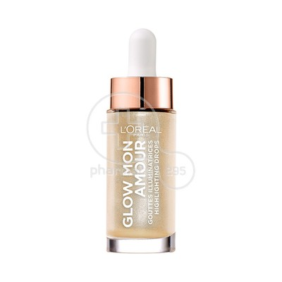 L'OREAL PARIS -  GLOW MON AMOUR Highlighting Drops (Champagne) - 15ml