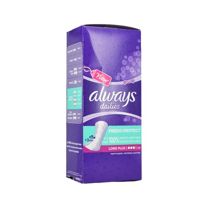 ALWAYS - ALWAYS Dailies Fresh & Protect Long Plus - 24τεμ.