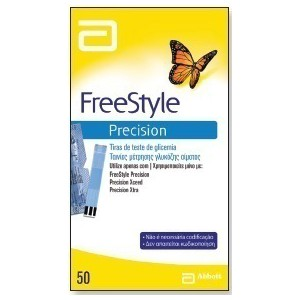 Freestyle precision 50 test strips