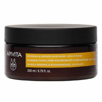 APIVITA HAIR MASK NOURISH&REPAIR (ΕΛΙΑ&ΜΕΛΙ) 200ML