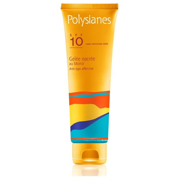 KLORANE SUN POLYSIANES GELEE NACREE PROTECTION MODEREE SPF 10 125ML