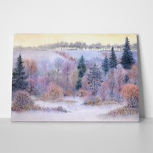 Winter forest watercolor 103503203 a