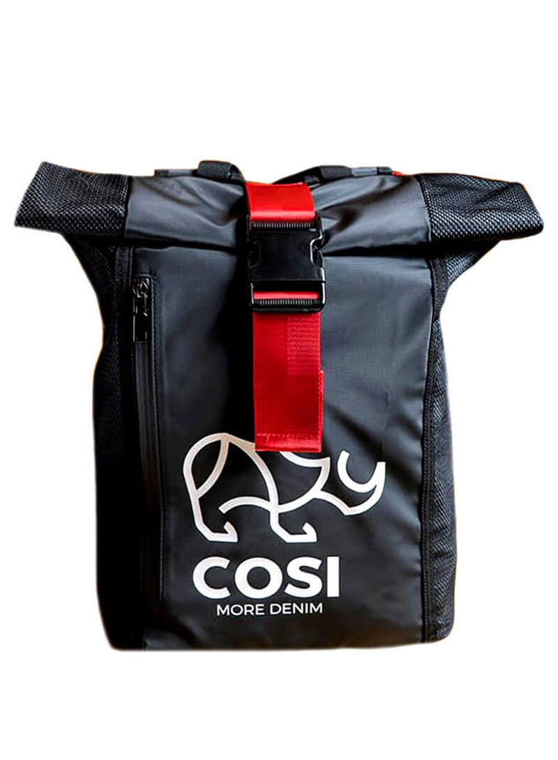 COSI JEANS BLACK BACKPACK