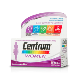 Centrum Women Complete form A to Zinc, 60 tabs