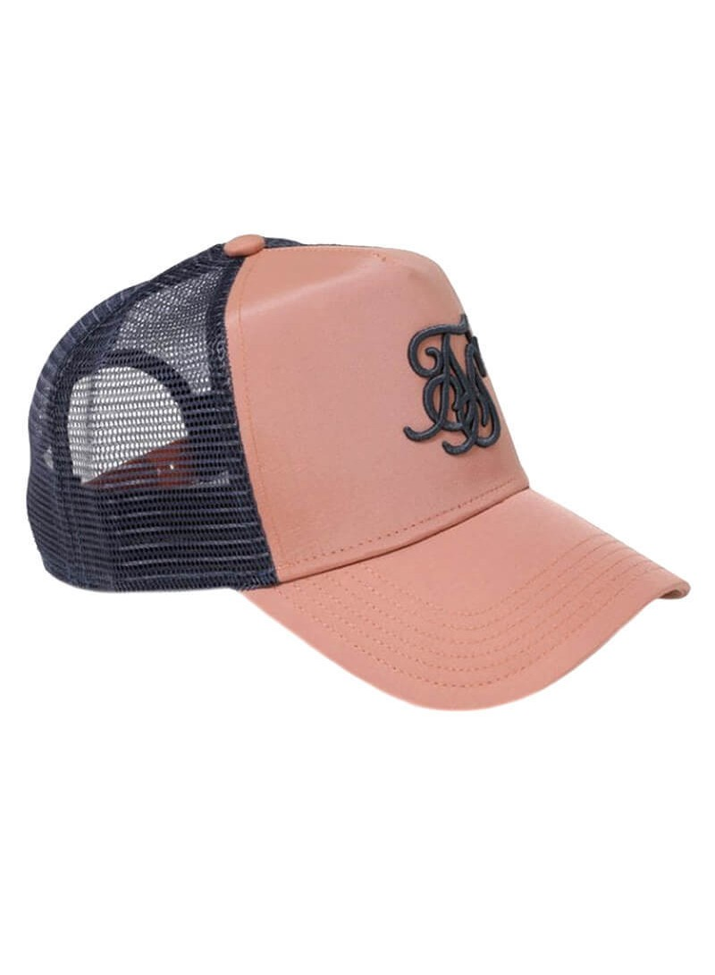 SikSilk Bent Peak Trucker - Dusk