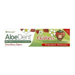 Optima AloeDent Children's Strawberry Toothpaste