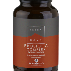 TERRANOVA PROBIOTIC COMPLEX WITH PREBIOTICS 50 VEG. CAPS