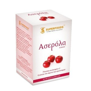 Superfoods acerola vitamin c