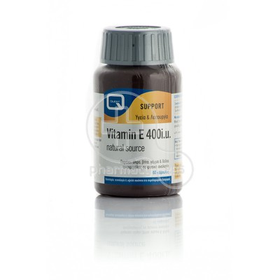 QUEST - VITAMIN E 400i.u. natural source – 60caps