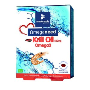 My elements krill omega3 500mg