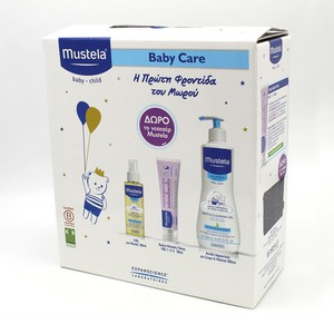 MUSTELA BABY CARE Promo pack & ΔΩΡΟ νεσεσέρ