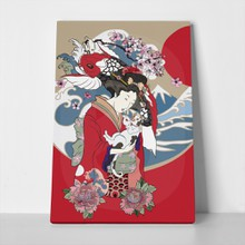 Fish traditional japanese painting 752240635 a