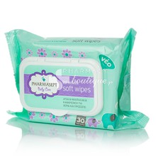 Pharmasept Baby Soft Wipes - Μαντηλάκια, 30 τμχ
