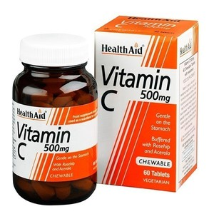 Health aid vitamin c 500mg