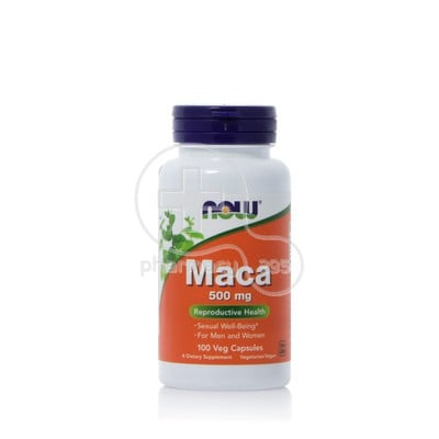 NOW - MACA 500mg - 100caps
