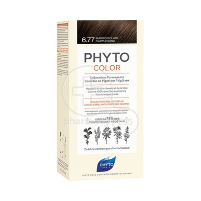 PHYTO - PHYTOCOLOR 6.77 Marron Clair Cappuccino