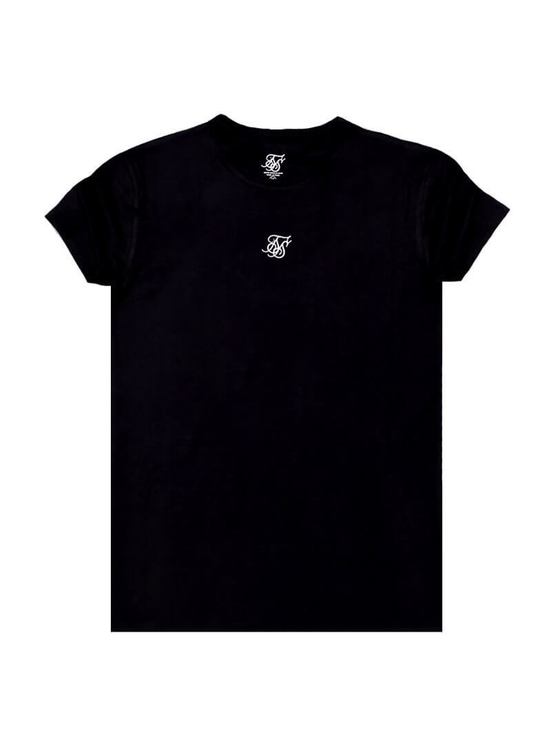 SikSilk Lounge Tee - Black