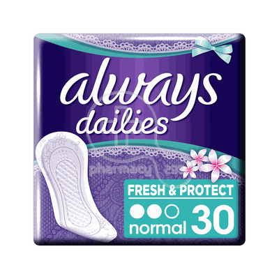 ALWAYS - DAILIES FRESH & PROTECT Fresh Scent Normal - 30τεμ.