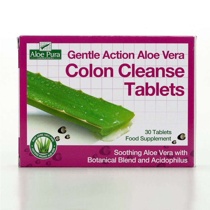 Aloe Vera Colon Cleanse Tablets 30s