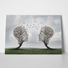 Tree shaped communication concept 407475370 a