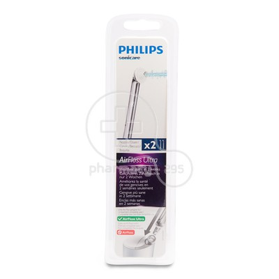 PHILIPS - SONICARE Sonicare AirFloss Ultra Silver HX8032/07 - 2τεμ.