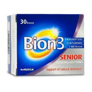 Merck bion 3 senior 30 tabs