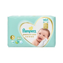 Pampers Jumbo Premium Care No5 (11-18kg) 44τμχ