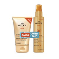 NUXE SUN FACE&BODY MILKY SPRAY SPF20 150ML (PROMO+AFTER SUN MILK 100ML)